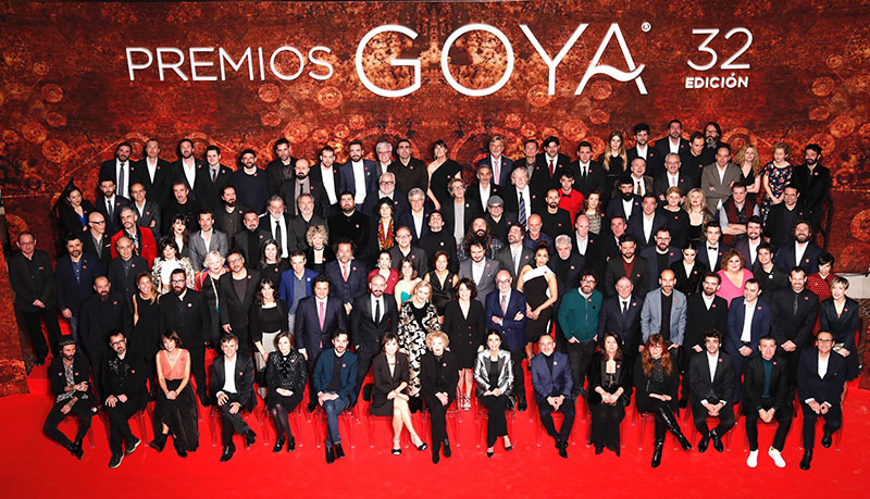 ANALIZAMOS LOS CORTES DE PELO DE LOS ACTORES EN LA GALA DE LOS GOYA 2018